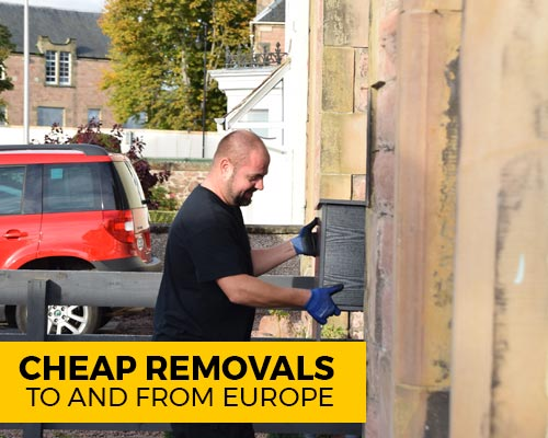 Cheap Removals to and from Europe