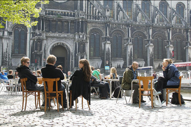Moving to Belgium - Sunshine in Brussels by Quarsan (Flickr)