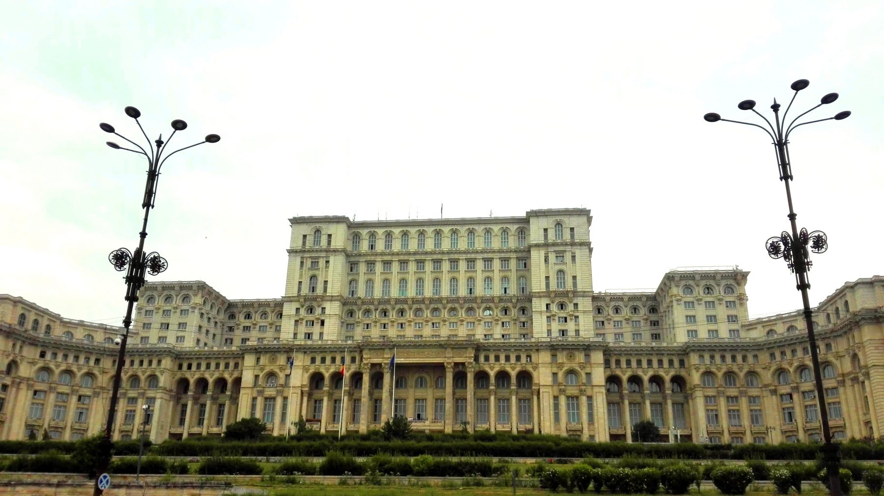 Palace of parliament - moving to Romania